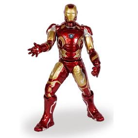 Boneco - 50 Cm - Disney - Marvel - Iron Man - Mimo