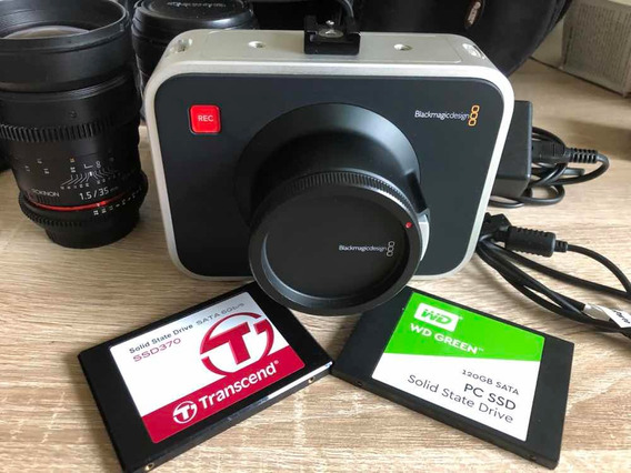 Câmera De Cinema Blackmagic Ef Canon