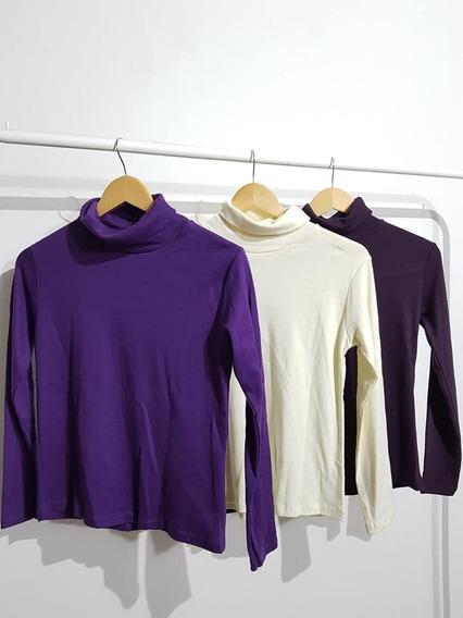 Polera Camiseta Algodon Mujer