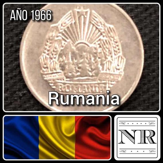 Rumania - 5 Bani - Año 1966 - Km # 92 - Escudo
