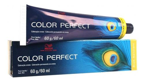 Imagen 1 de 7 de Tintura Color Perfect X60grs Wella Pack X3unidades