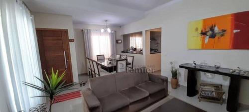 Sobrado Com 3 Dormitórios À Venda, 192 M² Por R$ 650.000,00 - Parque Boa Esperança - Indaiatuba/sp - So0455