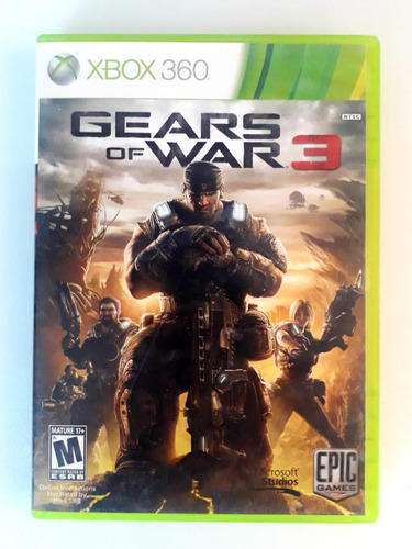 Gears Of Wars 3 Xbox 360 Lenny Star Games