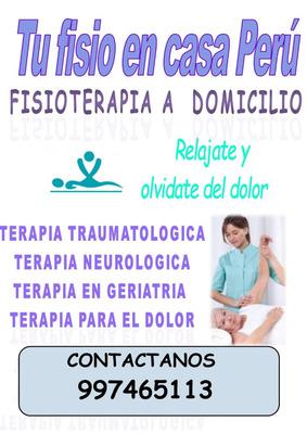 Fisioterapia-terapia Física A Domicilio 989361072