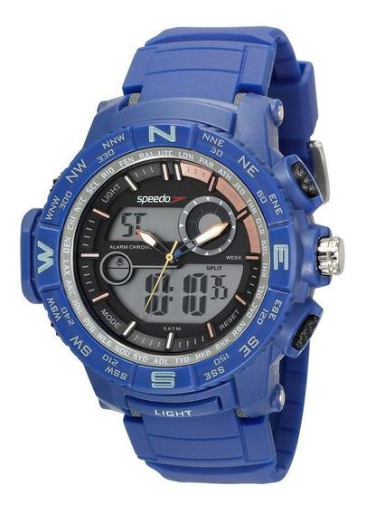 Relógio Speedo Masculino Adulto Feixo Plástico 81186g0evnp1