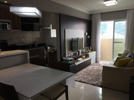 Apartamento Com 2 Dormitórios À Venda, 61 M² Bairro Vila Matias - Santos/sp - Ap1652