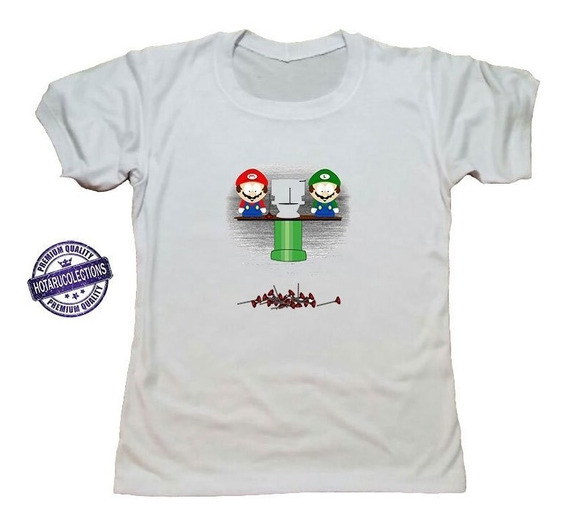 Remera South Park Mario Bross Mod 36 Hotarucolections