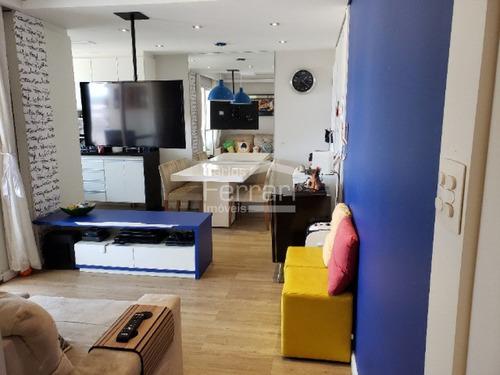 Lindo Apartamento A Venda Em Localização Privilegiada. - Cf32865