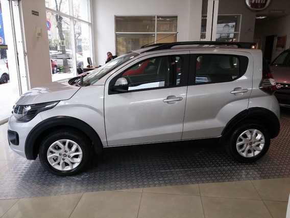 Fiat Mobi Pack Top Anticipo 34 Mil O Usado Uno Gol Up Twin L