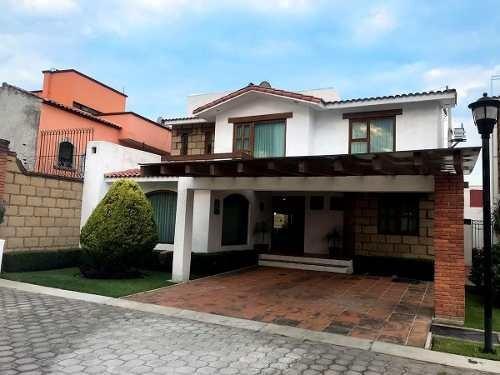 Casa En Venta En Metepec 270m2 A Dos Cuadras De Sports World