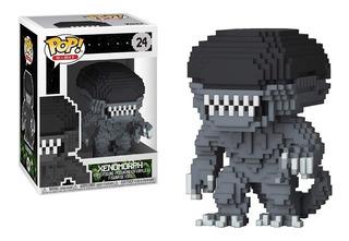 Funko Pop Xenomorph Alien Original Modelo 8-bit Piu Online