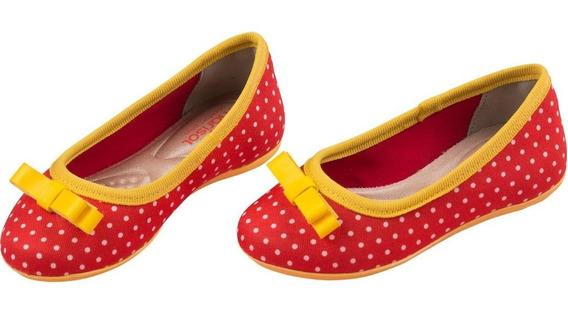 Sapatilha Marisol (vermelha)
