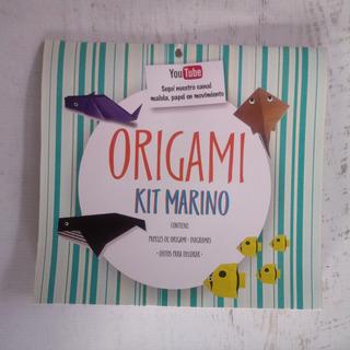 Kit Origami Animales Marinos