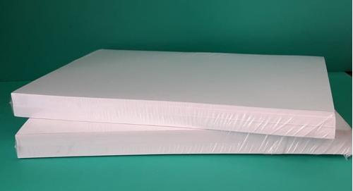 Imagen 1 de 2 de Papel Opalina 200 Gr  A4 Blanca Lisa 100 Hojas