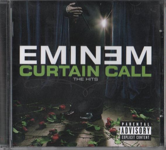 Cd Eminem Curtain Call The Hits 2005 Feat Elton John Usado