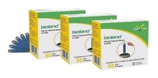 Kit Fitas Para Glicemia Bioland (150 Fitas)