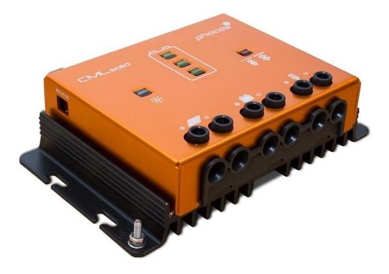 Regulador De Carga Fotovoltaico 12/24v 30a - Tipo Cmlsolid