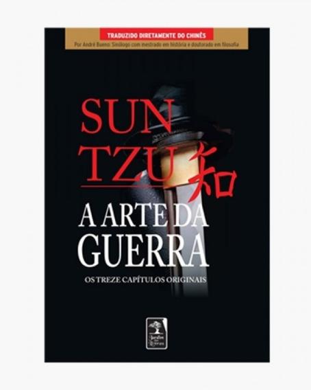 Livro A Arte Da Guerra Os Treze Capítulos Originais Sun Tzu