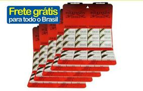 Giletes De Barbear Wilkinson Kit C/5 Cartelas = 300 Lâminas
