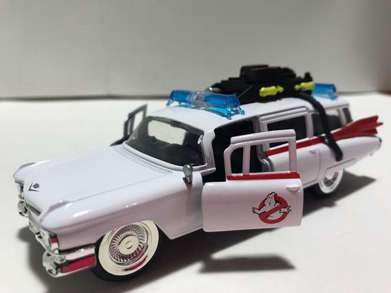 Miniatura Cadillac Caça Fantasma Filme Escala 1/32