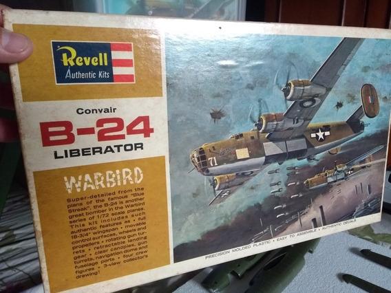 Convair B-24d Liberator - Revell 1/72 Caixa Dura