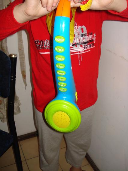 Juguete !!! Trompeta Saxo Musical A Pilas