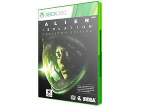 Jogo Alien Isolation Nostromo Edition Xbox 360 Original