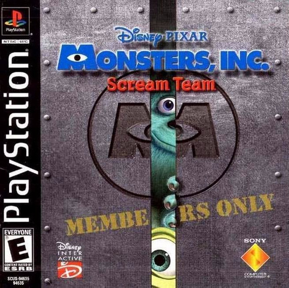 Monsters Inc Playstation 1