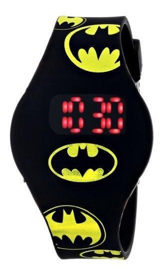 Batman Kids Bat4146 Reloj Con Banda De Goma Negra