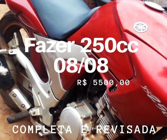 Ys 250 Fazer 08/08