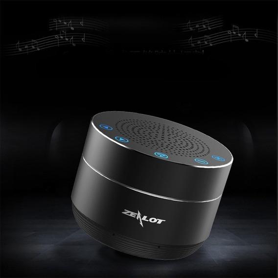 Caixa De Som Stéreo Zealot S19 Portátil Wifi Bluetooth