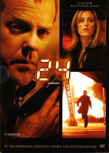 24 Temporada 5 Edición De Colección - 7 Dvds Originales