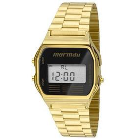 Relógio Mormaii Unissex Mojh02ab4p Dourado Mercado Livre
