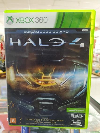 Halo 4 Xbox 360 E Xone Usado Mídia Física Zerada Sem Riscos