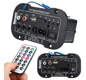 Placa Amplificada Decodificador Mp3/ 50w Usb Bluetooth