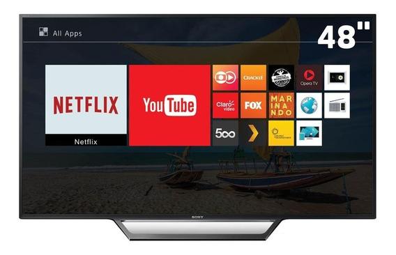 Smart Tv 48 Led Fhd Kdl-48w655d. Para Retirada De Peças.