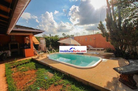 Casa Com Piscina Em Barão Geraldo - Ca1540