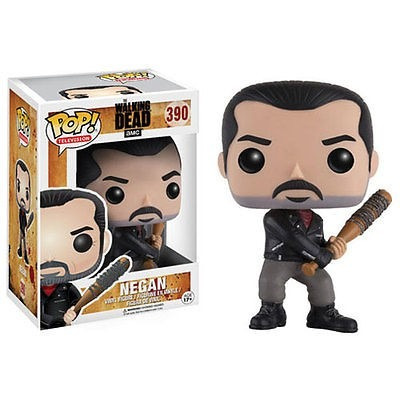 Funko Pop Tv The Walking Dead-boneco De Ação De Vinil Negan.