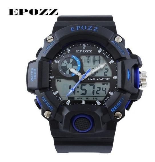 Relógio Masculino Epozz Esportivo 5atm - Envio Imediato.
