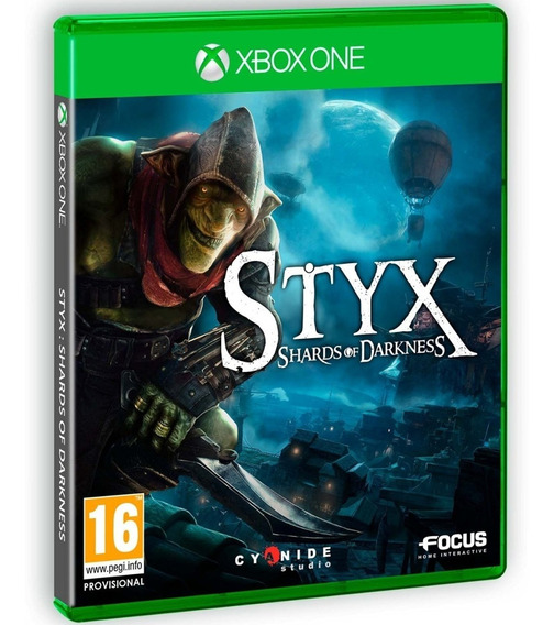 Styx Shards Of Darkness Xbox One Midia Fisica Original Br