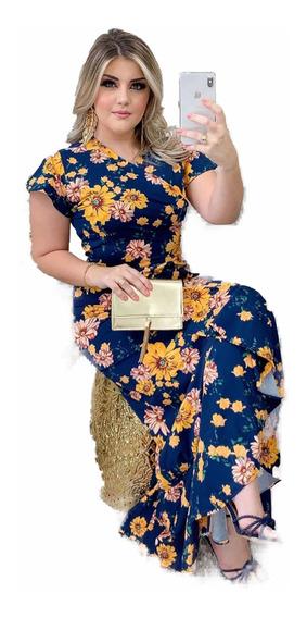 Mega Promoção-vestido Longo - Moda Evangélica Comportada