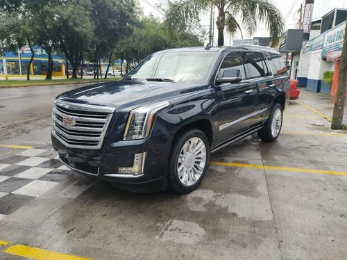 Imagen 1 de 15 de Cadillac Escalade Esv Platinum 2018 Azul