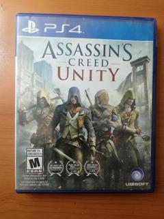 Juego Assassins Creed Unity Ps4