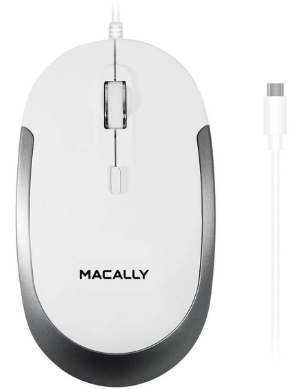 Macally Macally Wired Usb C Mouse Mac Y Amp Windows 3 Y Amp;