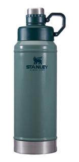 Termo Stanley Botella Para Liquido 1 Litro Verde Stanley