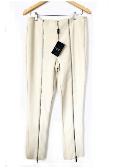 Le Lis Blanca - Calça Offwhite Social - 42