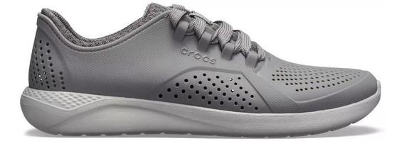 Crocs Literide Pacer Cinza 42 (m11) Masculino