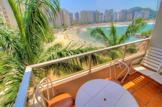 Praia Das Astúrias - Guarujá - Frente Ao Mar - 3 Dormitórios - Lazer - Ap3875