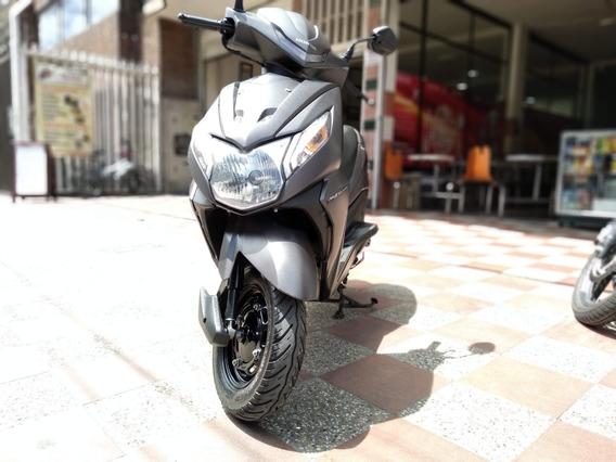 Hermosa Scooter Honda Dio Dlx 110 Mod 2019 Automática