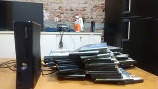 X Box 360 Slim ! Con Juegos, Sin Joystick! No Envio,